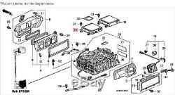 00-01 Honda Insight Battery Electronic Control Unit Module ECU ECM Computer OEM