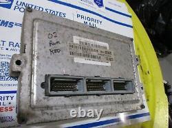 02' Ram 1500 Ecm Engine Control Module Computer Pcm Ecu Power Unit Tested