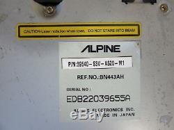 03 04 Acura MDX GPS Navigation System DVD ROM Drive Reader Player OEM Alpine