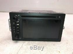 03-06 Sierra Yukon Escalade Lux Radio Receiver AM FM CD GPS NAVI OEM GM R2134