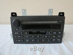 03-09 Lincoln Town Car Audio System AM FM Radio Tape CD Disc Player OEM Alpine
