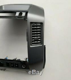 04 05 06 Nissan Armada Titan Radio Player Climate Control Bezel with Speaker OEM