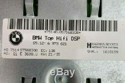04-10 BMW E90 3 5 6-series Logic 7 L7 Top Hi-Fi DSP Amplifier AMP 65126973621