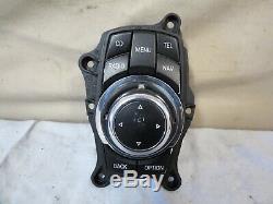 07-13 BMW E90 E91 E92 E93 3-series Menu Radio Player GPS iDrive Joystick OEM