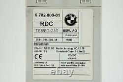 07-2013 bmw x5 e70 tire pressure control module unit tpms rdc oem