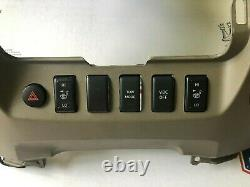 08 09 10 11 12 Nissan Titan Radio Player Climate Control Dash Center Bezel OEM