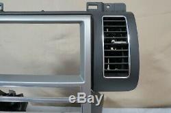 09 10 11 12 Ford Flex Radio AC Climate NAVI Control Panel Dash Lid Bezel OEM