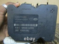 09 10 11 Kia Borrego ABS Pump Anti Lock Brake Module Oem 2009-2011 589202J150