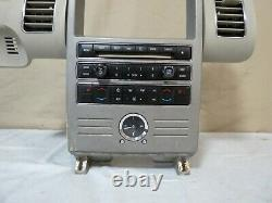 09 2009 Ford Flex GPS Radio AC Climate Control Dash Panel OEM 8A8T-18A802-DHW