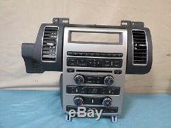 10 11 12 Ford Flex Sirius Radio AUX AC Climate Control Panel Dash Bezel OEM
