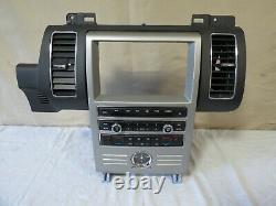 11 12 Ford Flex GPS Radio AC Climate Control Dash Panel OEM BA8T-18A802-AC