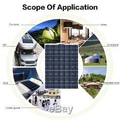 140W flexible Solar Panel system Solarmodul 20A Controller für Boat Home Caravan