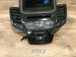 16 2019 Ford Fiesta Headunit Radio Display Gps Screen Monitor Bezel Vent Oem