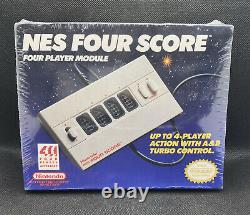 1990s SEALED New Nintendo Entertainment System NES Four Score 4 Player Module
