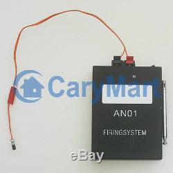 2 CH 2000m RF Wireless Remote Control Firework Ignitor System