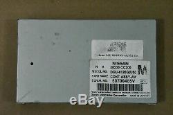 2005 06 Nissan Armada Infinti QX56 Info GPS Navigation Display Control Module