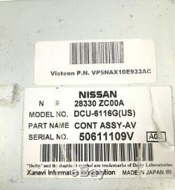 2005-2006 Infiniti QX56 GPS Navigation Control System Module OEM 28330-ZC00A
