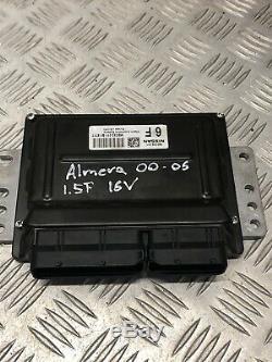 2005 Nissan Almera 1.5 P Petrol Ecu Set Kit 5 Speed Mec32211 285912f000