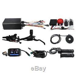 36V-72V 45A Sine Wave Intelligent Controller System Kit 1000W-2000W For Ebike