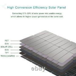 400W Solar Panel Module Charger System with 30A PWM Controller for RV CampingCar