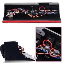 6 Rocker Switch Electronic Relay System Module Control Box Kit Fit Jeep JK JKU