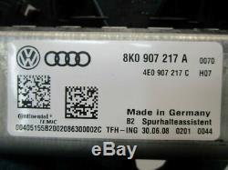 Audi A4 (8K5, B8) 07-11 Camera Lane Assist Departure Warning System 8K0907217A