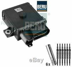 BMW E53 X5 3.0d M57N E70 X5 3.0d Glow Plug/Relay Module & Glow Plugs BERU BOSCH