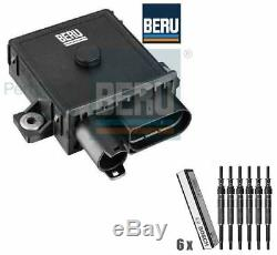 BMW E60 525,530,535d Glow Plug Control Unit Relay Module & Glow Plugs BERU BOSCH