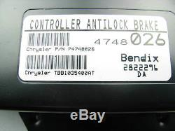 Bendix 40034 Anti-lock Brake ABS System Brake Control Module ECU With 2 Relays
