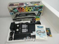 ColecoVision Console Expansion Module 1, 2 Action Controller All Complete in Box