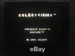 ColecoVision Console Games Expansion Module Super Action Controllers