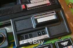 ColecoVision Console Modded WithAtari expansion Module1 2 Controllers 4 Games PS