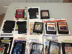 ColecoVision Console System Bundle 19 Games, Controllers, Expansion Module Atari
