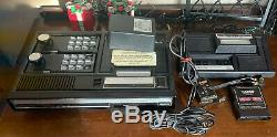 ColecoVision Console expansion Module1 + 2 Controllers 1 Game Tested