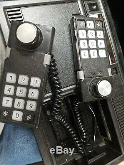 ColecoVision Console with Atari 2600 Expansion Module and controllers
