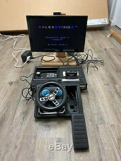 Colecovision Console with21 Games, Expansion Module #1 & #2 + Super Controllers
