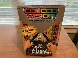 Colecovision Expansion Module 2 Steering Controller SEALED NEW NEVER OPENED RARE