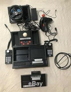 Colecovision Game Lot System 59 Games, Expansion Module, Controllers