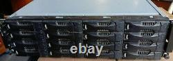 Dell EqualLogic PS6010 San Storage System Dual Type 10 Controller Modules +16