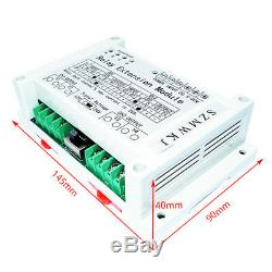 Dual Axis Solar Tracker Controller + 40A Relay Module for Large Current System