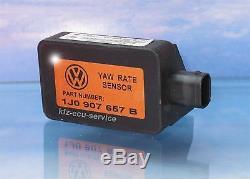 ESP Sensor Drehratensensor 1J0907657B 1J1907637B YAW Rate VW Golf 4 Audi TT A3