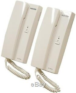 Eagle White 6 VDC 2 Way Station Telephone Style Calling System Handset Intercom