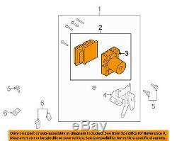 FORD OEM 2010 F-150 ABS Anti-Lock Brake System-Control Module AL3Z2C219P