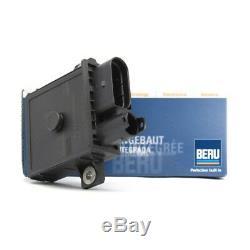 Genuine BERU BMW 1x Glow Plug Control Unit & 4x Glow Plugs E46 E90 E60 E70 E83
