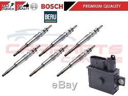 Genuine Beru Glow Plug Relay Bosch Glow Plug Bmw E71 E90 F07 F10 6 Cylinder New