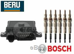 Glow Plug Control Unit Module & Glow Plugs BMW E46 330d, Cd BERUBOSCH