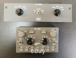 Goflight GF-EFIS Electronic Flight System and GF-MESM Multi Engine Start Module
