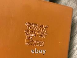 Lexus Oem Es300 Rear Radio Phone Power Antenna Motor Module With Relay 1992-1996