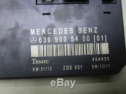 MERCEDES VITO (W639) 111 CDI Steuergerät 6399005400 Zentralelektrik