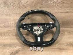 Mercedes W212 E550 W218 E63 Cls63 Amg Sport Suede Steering Wheel Black Oem